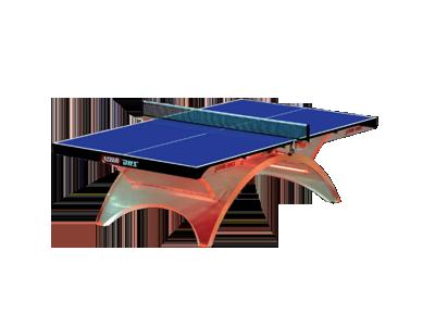 透明彩虹乒乓球台