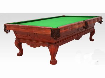 星牌雕刻台  中式台球桌XW8105-9A